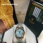 Rolex Day Date 40 Blue Platinum