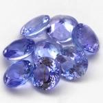 พลอยแทนซาไนท์ (Tanzanite) พลอยธรรมชาติแท้ น้ำหนัก 1.05 กะรัต