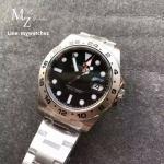 Rolex Explorer I Noob Factory V7 - Black Dial