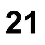 [C21] :: 21