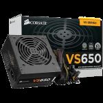 CORSAIR VS650 650W (80+WHITE) ประกัน 3 ปี