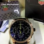 """TAG Grand Carrera """"Mercedes-Benz SLS"""" Chronograph,Gold & Rubber"""