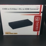 CVBS or S-Video+R/L to HDMI Converter