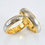 แหวนคู่รักทองแท้ สลักชื่อ