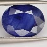ไพลิน (Blue Sapphire) พลอยธรรมชาติแท้ น้ำหนัก 2.95 กะรัต