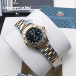 Tag Heuer Aquaracer Two Tone Black Dial Watch - WAY1414.BA0920