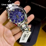 Emporio Armani AR1635 Classic Blue Chronograph Watch