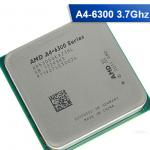 [FM2] A4-6300 3.7 GHz, Turbo Speed: 3.9 APU