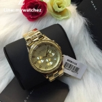 MARC BY MARC JACOBS Henry Chronograph Champagne Dial Gold-plated Ladies Watch MBM3105