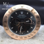 Rolex Daytona Cosmograph Black Dial Rose Gold - Wall Clock