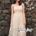 เสื้อผ้าแฟชั่นเกาหลี Lady Ribbon Thailand LUXURY by Seoul Secret ... Dress For a Beautiful Line Lace Embroidery