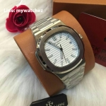 Patek Philippe Men's Nautilus 5711/1A-010,White St Steel