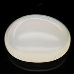 พลอยโอปอล (White Opal) พลอยธรรมชาติแท้ น้ำหนัก 5.30 กะรัต