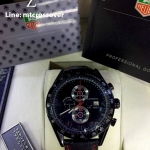 Tag Heuer Carrera Calibre 1887 - Black Dial and Rubber Band