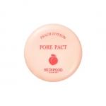 Skinfood Peach Cotton Pore Pact แป้งพัฟอัดแข็ง