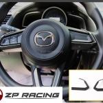 คิ้วพวงมาลัย Carbon Mazda3
