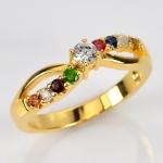 แหวนนพเก้า Infinity แหวนพลอยแท้
