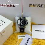 Diesel Men's DZ7256 Little Daddy Analog Display Analog Quartz Black Watch