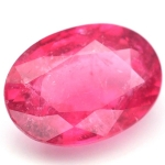 พลอยทัวร์มาลีน (Pink Toumaline) พลอยธรรมชาติแท้ น้ำหนัก 0.85 กะรัต