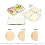NEE CARA 3 COLOR PRESSED POWDER