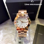 Marc Jacobs MBM3077 36mm Gold Steel Bracelet & Case Women's Watch