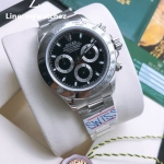 Rolex Cosmograph Daytona Stainless Black Dial 116520 - Swiss Grade