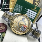 Rolex Sky-Dweller White Dial Ref: 326934 - Two Tone Gold Dial
