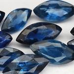 พลอยไพลิน (BlueSapphire) พลอยธรรมชาติแท้ น้ำหนัก 2.15 กะรัต