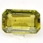 พลอยเพอริดอท (Peridot) พลอยธรรมชาติแท้ น้ำหนัก 0.90 กะรัต