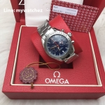 Omega Speedmaster '57 Co Axial Chronograph Blue PVD Dial