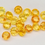 พลอยบุษราคัม (Yellow Sapphire) พลอยธรรมชาติแท้ น้ำหนัก 3.00 กะรัต