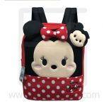 Preschool, Nursery school, Genuine Brand, Cartoon Backpack, lint, Minnie Tsum Tsum