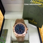Audemars Piguet Royal Oak Chronograph - Gold with Blue Dial