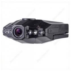"""กล้องบันทึกภาพติดรถยนต์ HD 2.5"""" TFT LCD Screen ถ่ายมุมกว้าง 270° อินฟาเรท IR Night vision"""