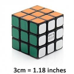 รูบิค Maru 3x3x3 Tiny 3cm DB Mini Speed Puzzle Cube