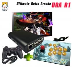 เครื่องเล่นเกมเก่า URA R1 พร้อมจอยโยก