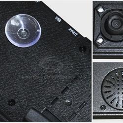 กล้องบันทึกภาพติดรถยนต์ แสดงจอภาพที่กระจกมองหลัง Full HD