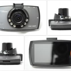 กล้องบันทึกภาพติดรถยนต์ หน้าจอ 2.7นิ้ว FHD 1080P G-sensor Night vision 170 wide angle