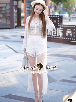 Seoul Secret Say's... Vava Diva Trippy Lace Set