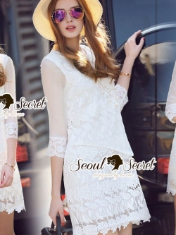 Seoul Secret Say's... Lollita Princess Lace Dress