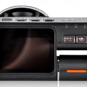 กล้องติดรถยนต์บันทึกภาพ หน้าจอ LED 2 นิ้ว HD 720P Night Vision