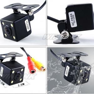 กล้องมองหลัง + ไฟ LED 4 ดวง ระบบ อินฟาเรต ช่วยถอยหลัง ระบบ NTSC/PAL CA314
