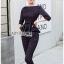เสื้อผ้าแฟชั่นเกาหลี Lady Ribbon's Made Lady Anne Smart Casual Striped Crepe Ensemble Set thumbnail 3