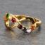 แหวนนพเก้า Infinity แหวนพลอยแท้ เพชรแท้ ตัวเรือนทองแท้ thumbnail 4