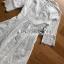 เสื้อผ้าแฟชั่นเกาหลี Lady Ribbon Thailand Lady Ribbon's Made Lady Maleeya Laser-Cut and Embroidered White Cotton thumbnail 6