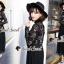 Seoul Secret Say's... Lacely Pleaty Skirt Lace Maxi Dress thumbnail 1