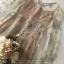 เสื้อผ้าแฟชั่นเกาหลี Lady Ribbon Thailand Seoul Secret Say'...Korea Style Minidress Tulle Department&Cream Embroidery Fancy thumbnail 5