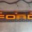 กระจังหน้า ตัวอักษรสีส้ม มีไฟหรี่ LED thumbnail 1