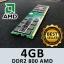 Cruelly DDR2 4GB 800 AMD thumbnail 1