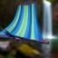 เปลญวน ผ้าสลับสี ขอบไม้ 200CM*80CM thumbnail 16